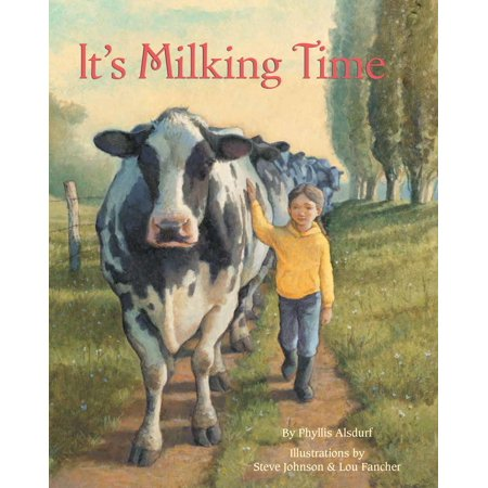 It's Milking Time (Hardcover) - It's Time Michael Halloween