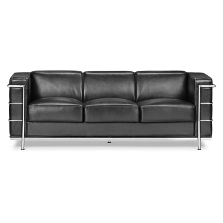 Groovy Zuo Modern Fortress Sofa Dailytribune Chair Design For Home Dailytribuneorg