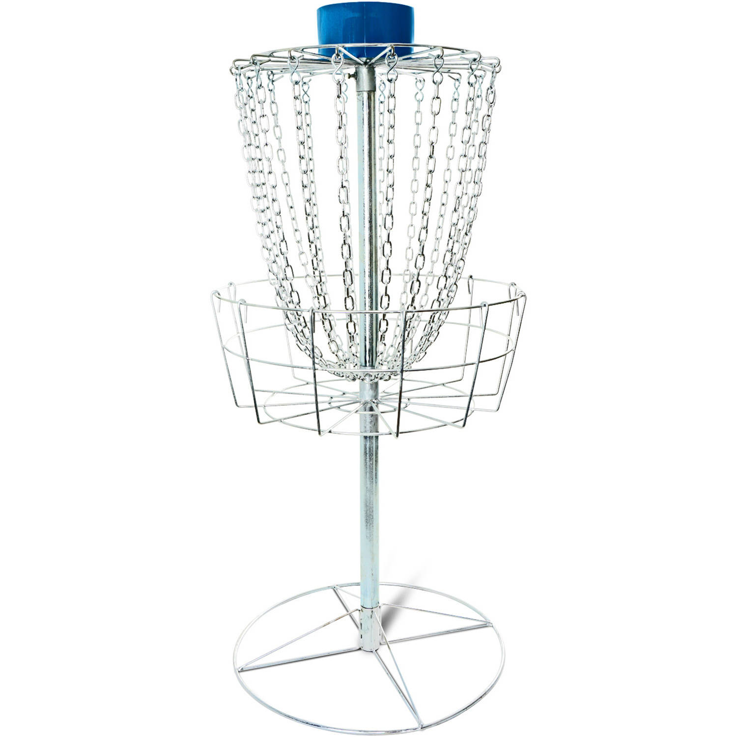 Titan Disc Golf Catcher Basket Target Portable Steel Chain Practice Frisbee by Titan Fitness