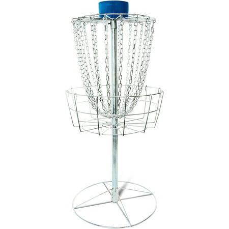 Titan Disc Golf Catcher Basket Target Portable Steel Chain Practice Frisbee