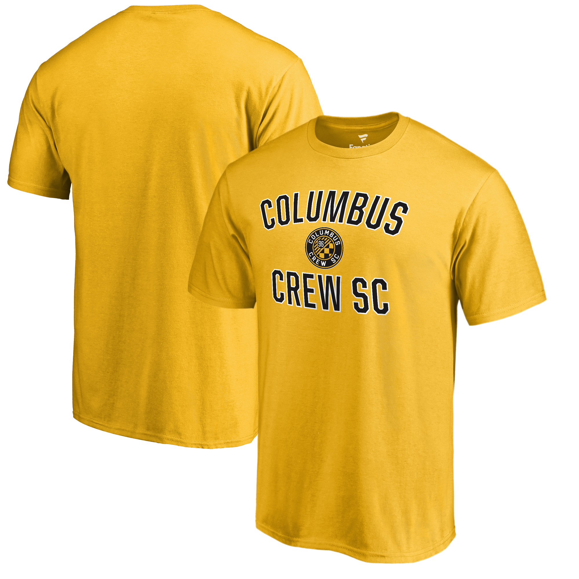 Columbus Crew SC Fanatics Branded Victory Arch T-Shirt - Yellow