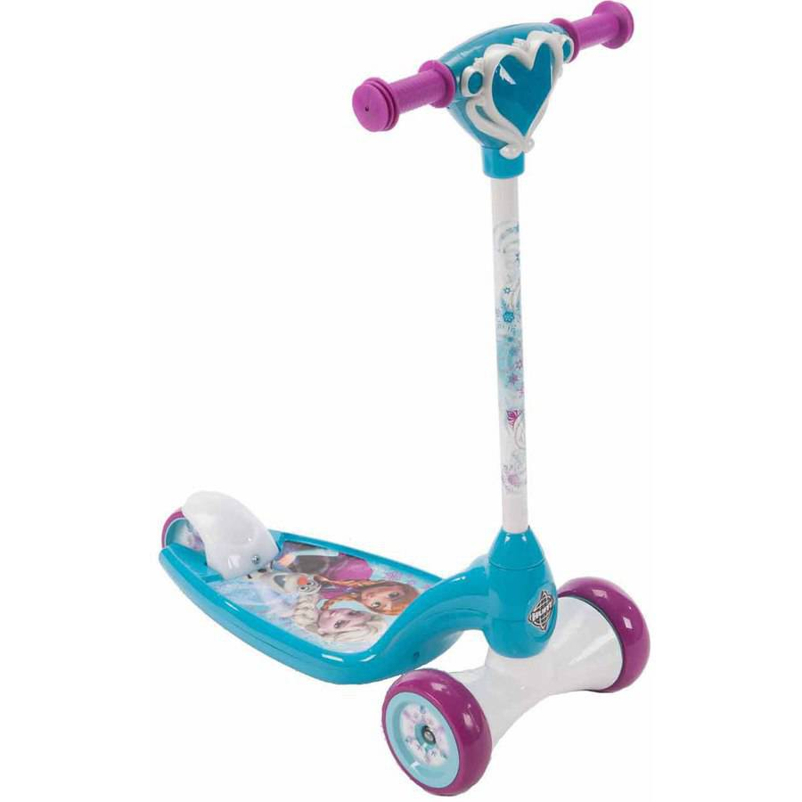 Huffy Girls' Disney Frozen Lights and Sounds Preschool Scooter by Huffy