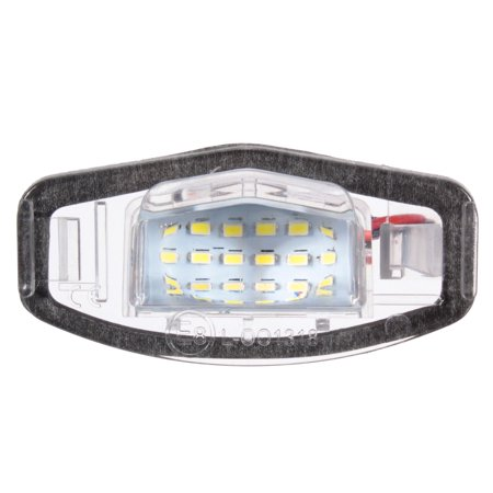 2Pc 18 LED License Plate Light Direct For Acura TL TSX MDX