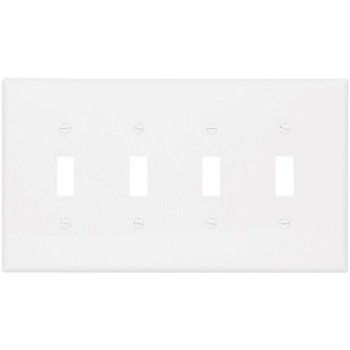 eaton wiring pj4w mid-size polycarbonate 4-gang toggle