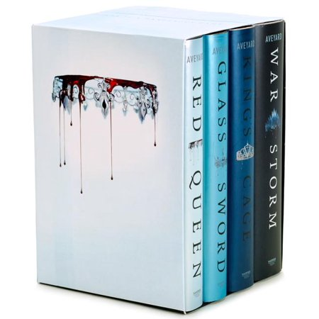 - Red Queen 4-Book Hardcover Box Set : Books 1-4