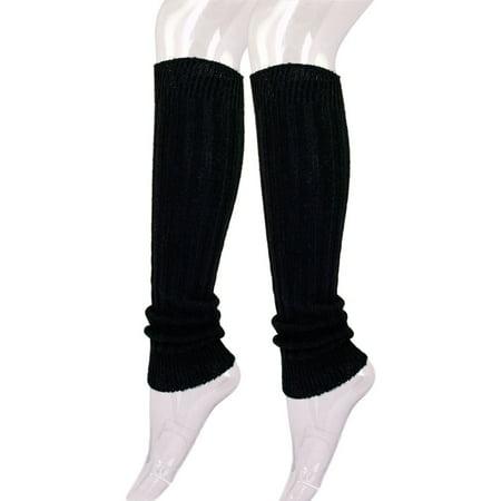 Premium Solid Color Soft Rib Knit Leg Warmers - Thing 1 Thing 2 Leg Warmers