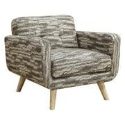 Nettie Chair With Pattern-Finish:Panama Mushroom