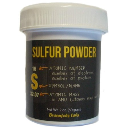 Braunfels Labs Sulfur Powder - 2 (2 Oz Inositol Powder)
