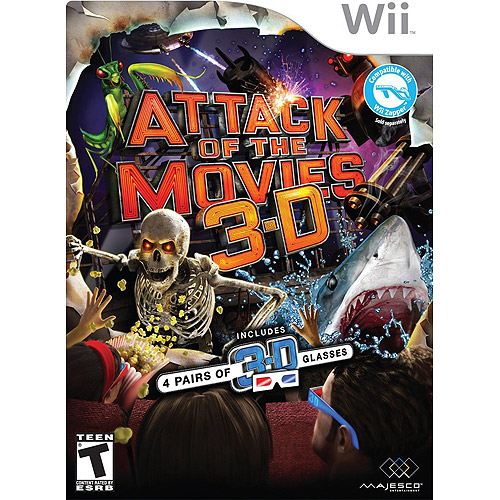 Attack of the Movies 3-D - Nintendo Wii