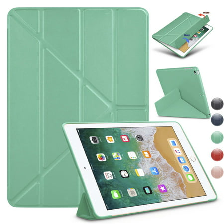 Njjex Cases Apple iPad Mini / iPad Mini 2 / iPad Mini 3, Slim Fit Lightweight Smart Cover with Soft TPU Back Case for iPad Mini / iPad Mini 2 / iPad Mini 3 [Auto Sleep/Wake] ()