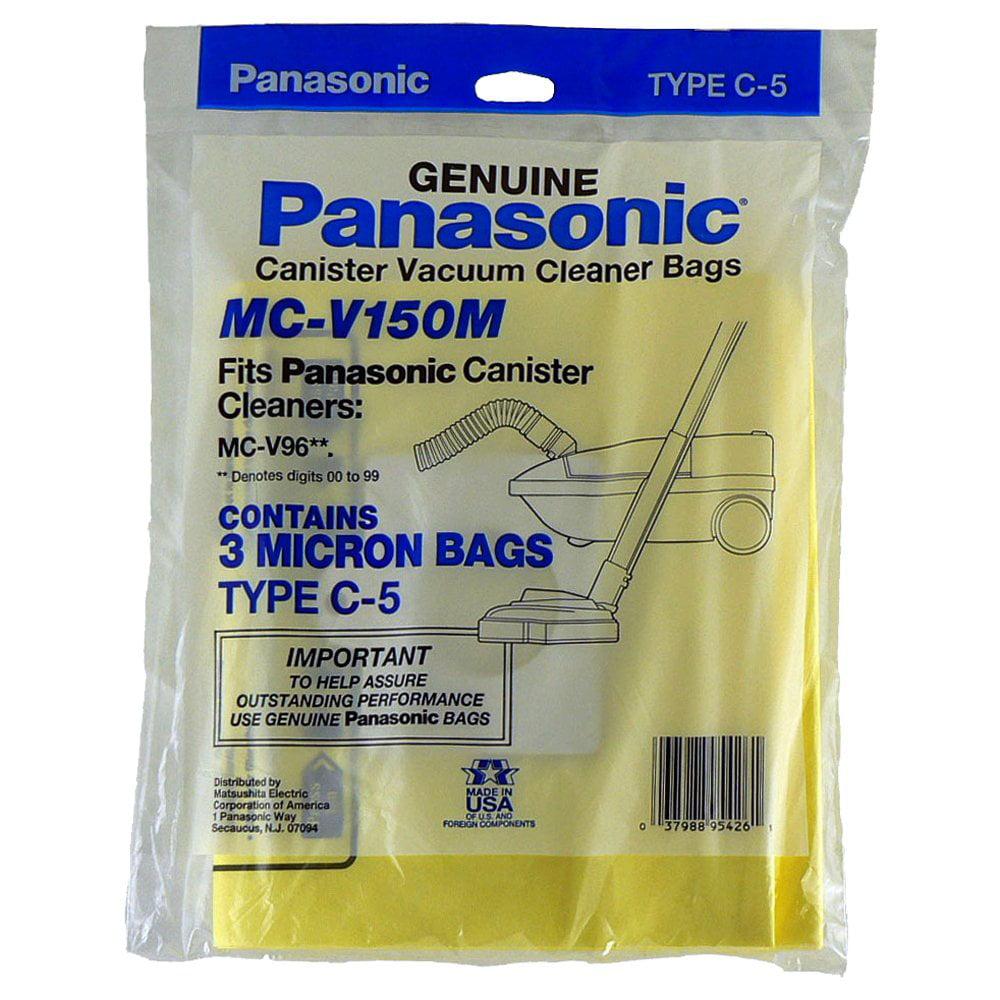 Panasonic MC-V150M 3-Pack Type C-5 Bags