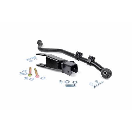 - Rough Country - 1052 - Front Forged Adjustable Track Bar for 4-6