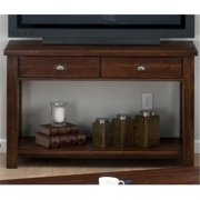 Jofran 731-4 Sofa-Media Unit with 2 Drawers and Shelf