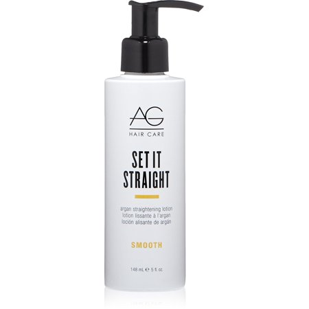 AG Hair Set It Straight Argan Straightening Lotion 5 oz