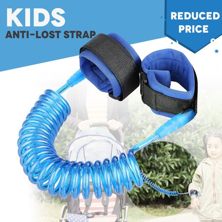 TSV Kids Baby Safety Anti-lost Strap Walking Harness Toddler Link Wrist Leash