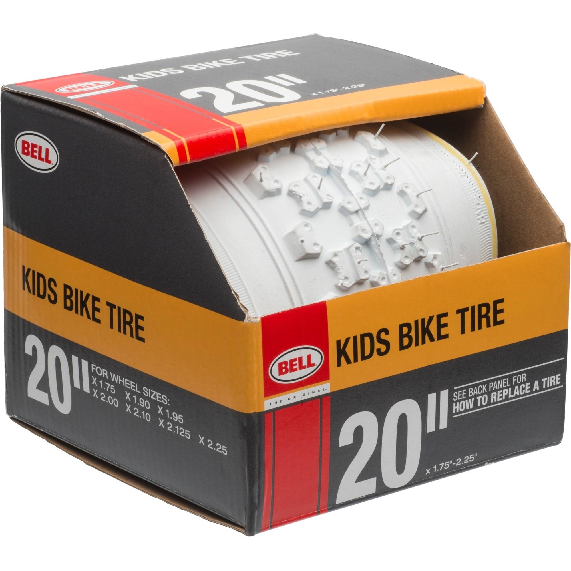 "Bell Gate 20"" BMX BikeTire-White"