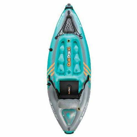 Sevylor QuikPak K1 Coverless Sit On Top Kayak - Blue