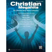 Christian Megahits -- The Ultimate Sheet Music Collection: Piano/Vocal/Guitar (Paperback)