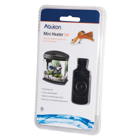 Aqueon Mini Heater for Aquariums Under 2.5 (Best Under Tank Heater)