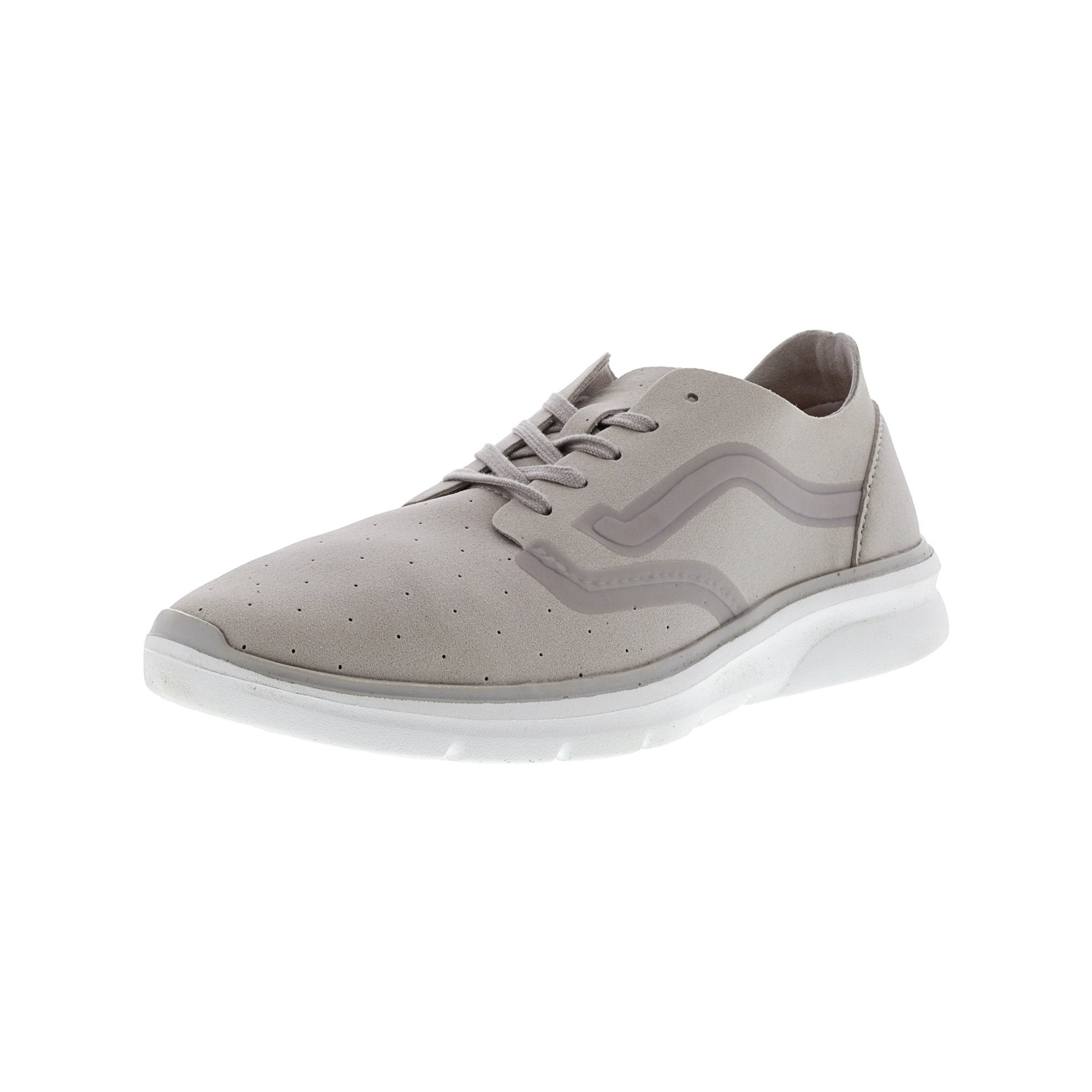 Vans Iso 2 Rapidweld Perforated Delicacy   White Ankle-High Skateboarding  Shoe - 9M 7.5M  550bba98f