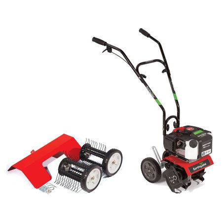 Earthquake MC43 Cultlivator Lawn Garden Gas Tiller w/ Dethatcher Attachment