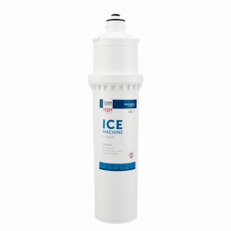 Clear Choice Ice Filtration System Replacement Cartridge for Everpure 7CB5-S EV9272-00 EV9606-01 EV9618-21 EV9618-26 Also Compatible with CUNO CFS9110-S, EcoLab 9320-2411, Nu Calgon 4621-30, 1-Pack