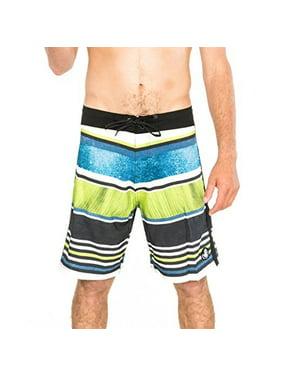 Body Glove Men's Swimwear Boardshorts Vapor Leaf Erickcon Indigo