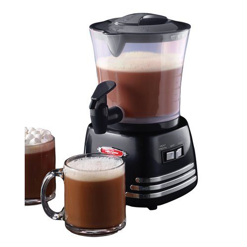 Nostalgia HCM700 Retro Series Hot Chocolate Maker Retro Series 32-Ounce Hot Chocolate Maker with Easy Pour Spigot