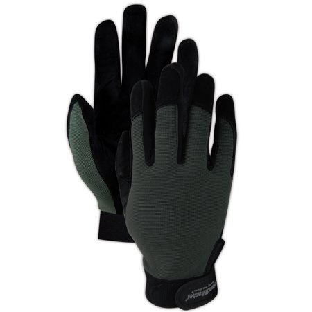 Magid HandMaster Goat Grain Leather Palm Gloves Large, Pair