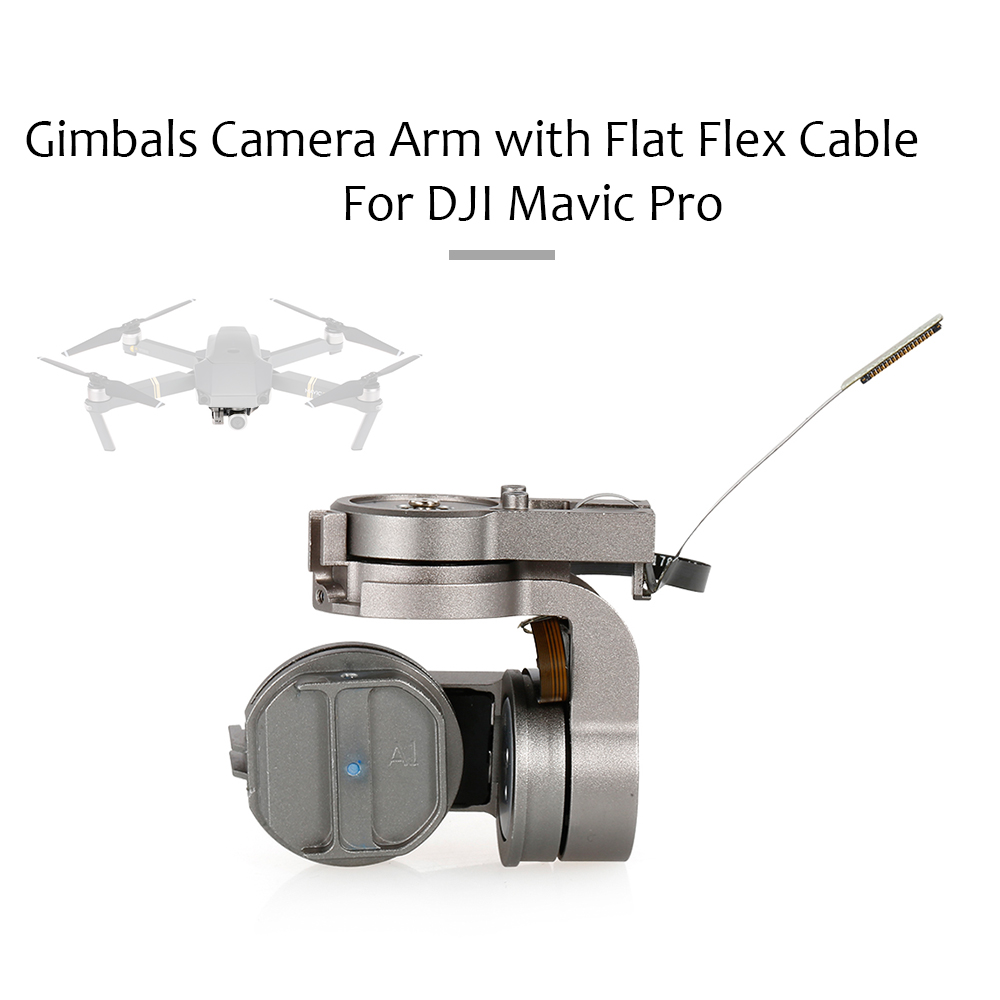 Details about  /Replacement Gimbal Camera Arm with Flat Flex Cable For DJI Mavic Pro Drone Parts