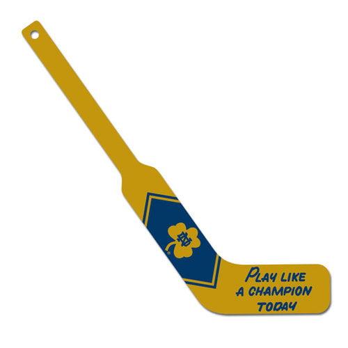 NCAA - Notre Dame Fighting Irish Play Like A Champion Mini Goalie Stick