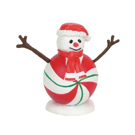 Dept 56 Snow Village 4057595 Peppermint Snowman 2017 (Halloween Village Parade 2017)