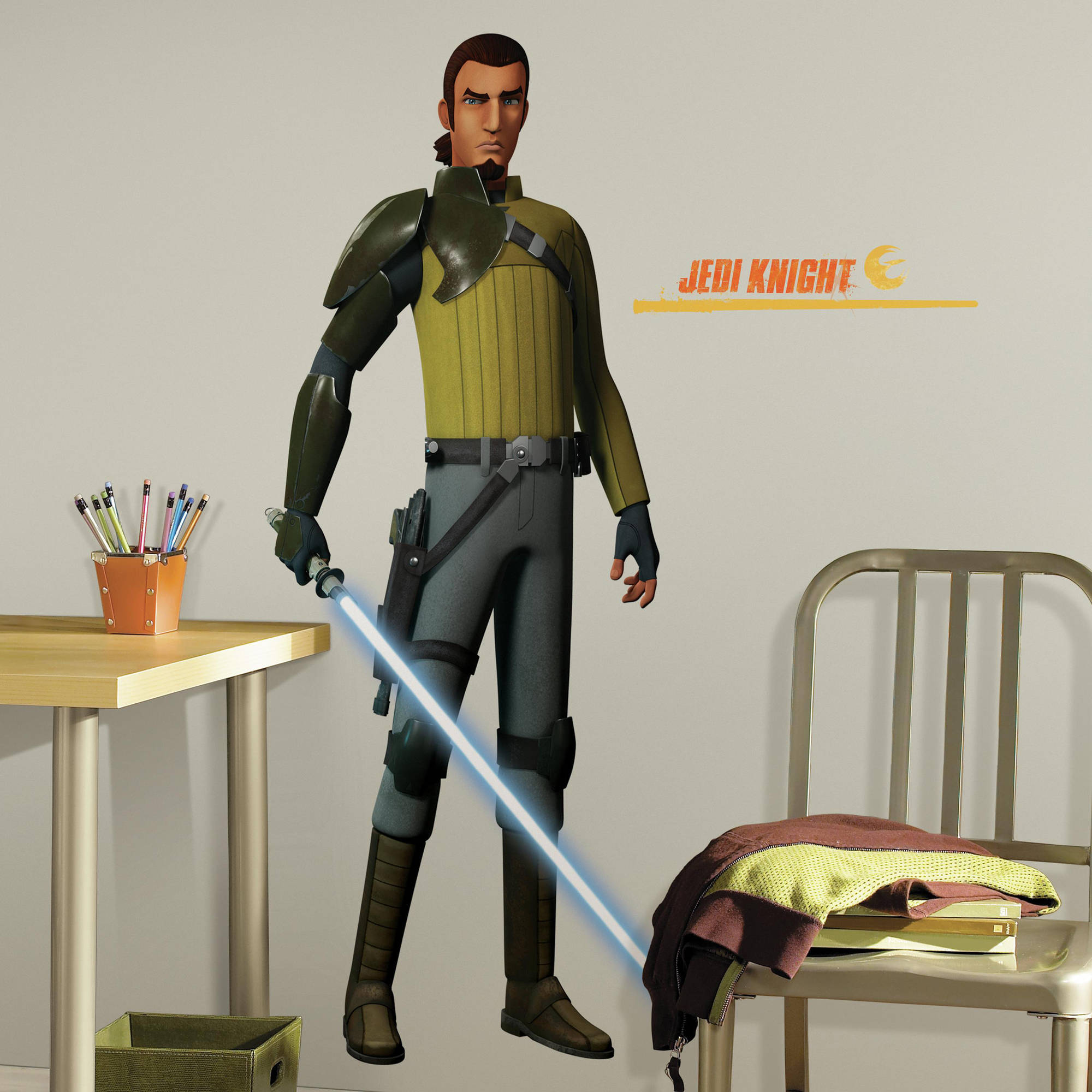 RoomMates Star Wars Rebels Kanan Peel and Stick Giant Wall Decals