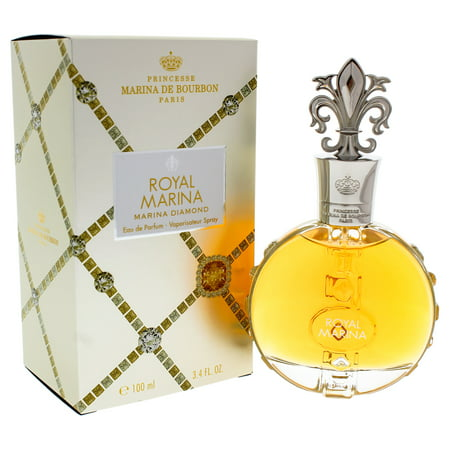 Royal Marina Diamond by Princesse Marina De Bourbon for Women - 3.4 oz EDP - White Gold Bourbon