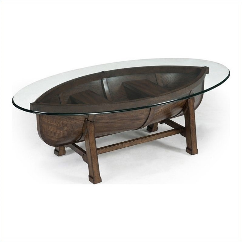 Magnussen Beaufort Cocktail Table in Dark Oak