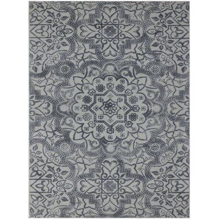 2 x 3 ft. Bansi Modern Design Hand-Tufted Rug, (Silver Cross 3 In 1 Travel System)