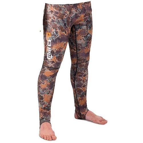 MARES Pure Instinct Mens Rash Guard Pants - Camo Brown (L...