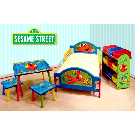 sesame street room in a box. Black Bedroom Furniture Sets. Home Design Ideas