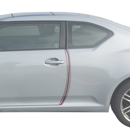 Red Hound Auto Door Edge Lip Guards 2011-2016 Compatible with Scion tC 2pc Door Lip Edge Clear Paint Protector Film Not Universal Pre-Cut Custom Fit Custom Fit Clear Film