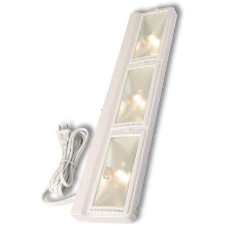 Westek24-Inch Plug-In 105-Watt Halogen Under Cabinet Light - White Halogen Cabinet Light