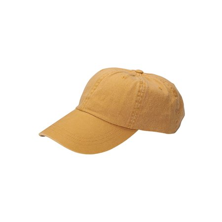 5da4516e53b Top Headwear Youth Low Profile Dyed Washed Cotton Twill Cap - Walmart.com
