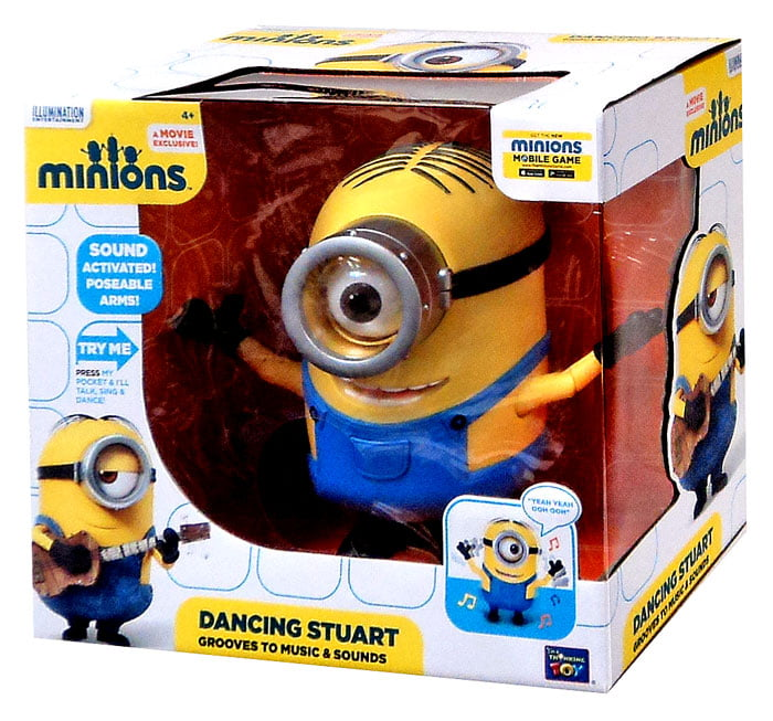 Minions Dancing Stuart by Thinkway