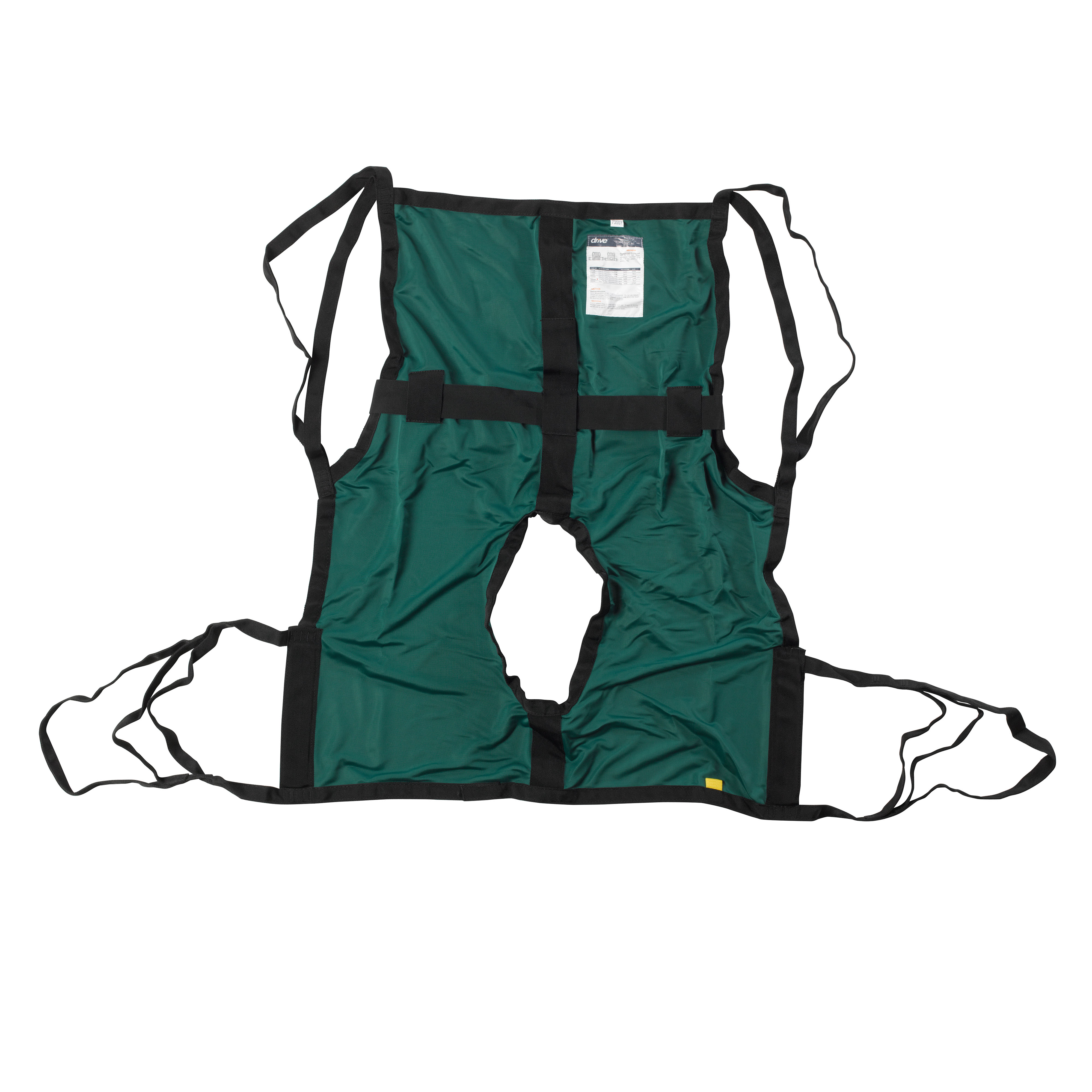 Drive Medical One Piece Sling with Positioning Strap, with Commode Cutout, Large