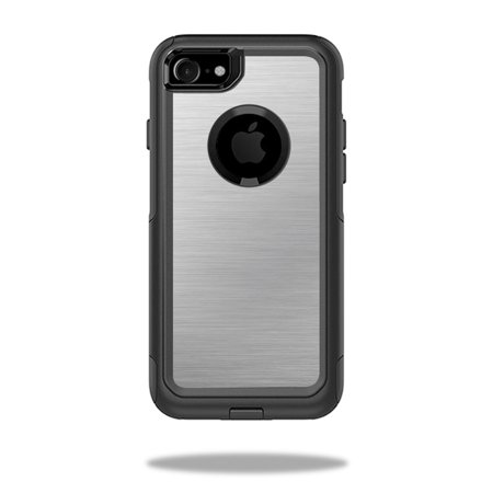 cheap for discount 3ed85 87a6e MightySkins Protective Vinyl Skin Decal for OtterBox Commuter iPhone 7 Case  wrap cover sticker skins Cold Steel