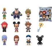 Funko Disney Kingdom Hearts Blind Pack Key Chains, Made Of Sturdy Vinyl, Compliments Any Backpack, Multicolor