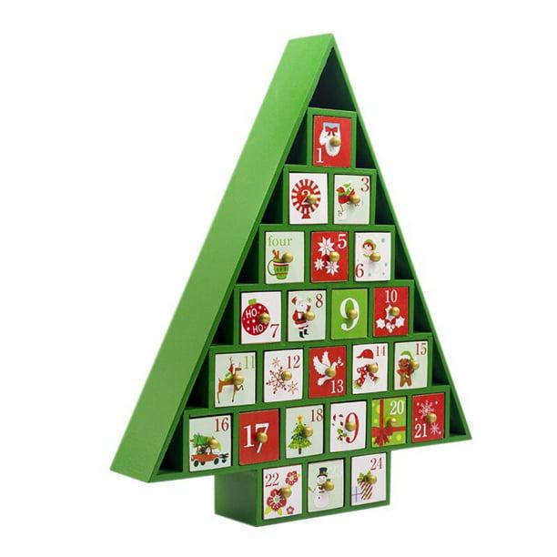 Christmas Countdown Calendar Storage Box Color Cottage House Advent Calendar Christmas Decorations For Home Kalendarz Adwentowy Walmart Com Walmart Com
