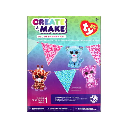 Boo Essential Care Kit - Darice Beanie Boo Create & Make Banner Kit