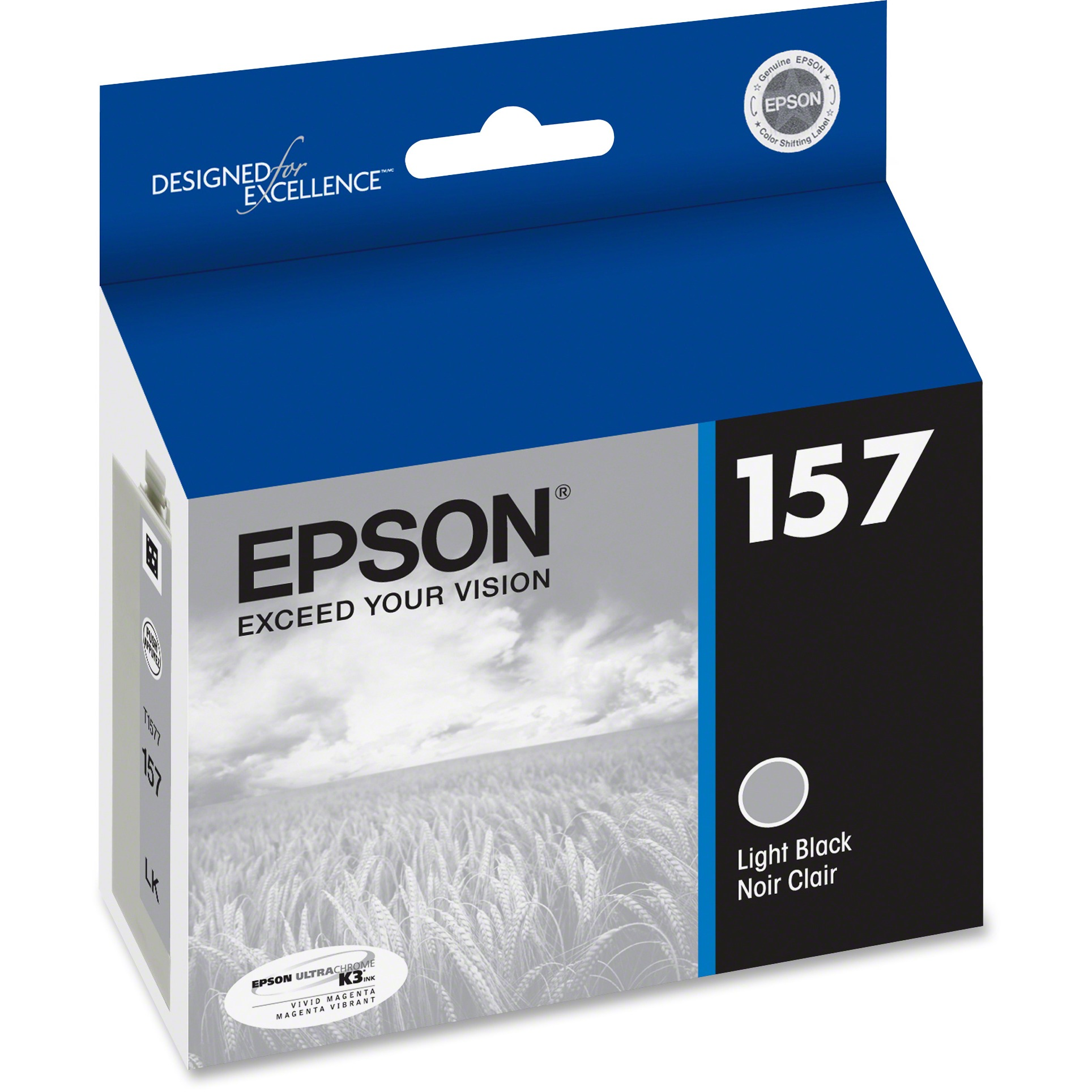 Epson, EPST157720, 157 UltraChrome K3 Ink Cartridge, 1 Each by Epson