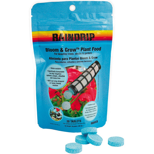 Raindrip R680CB Bloom & Grow Plant Food Tablets 15-15-15 30 Count