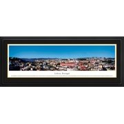 Lisbon, Portugal - Blakeway Panoramas Print with Deluxe Frame and Double Mat